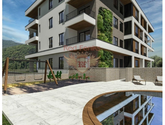 Apartments in a new residential complex in Tivat, apartments for rent in Bigova buy, apartments for sale in Montenegro, flats in Montenegro sale
