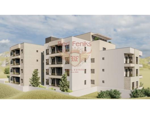 Budva'da Yeni Konut Binası 1+0, Montenegro da satılık emlak, Becici da satılık ev, Becici da satılık emlak